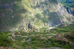 A look at the climb down and up to Pallasca, Peru.