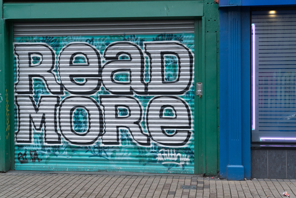 STREET ART AND GRAFFITI IN BELFAST [ANYTHING BUT THE FAMOUS MURALS]-129172