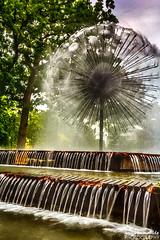 My Dandelion (gvonwahlde) Tags: dandelionfountain dandelion fountain loringpark minneapolis mn minnesota canon vonwahlde spring water hdr