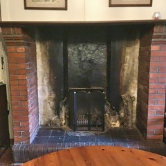 Didn't Risk This One (unclebobjim) Tags: levalfarmhouse fireplace hearth chimney blackened