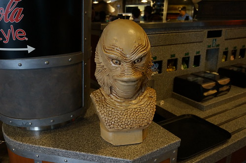 """Universal Studios, Florida: A Creature from the Black Lagoon Bust • <a style=""""font-size:0.8em;"""" href=""""http://www.flickr.com/photos/28558260@N04/34356905840/"""" target=""""_blank"""">View on Flickr</a>"""