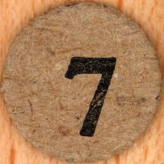 Popeye Bingo number 7 (Leo Reynolds) Tags: xleol30x number numberbingo xsquarex bingo lotto loto houseyhousey housey housie housiehousie numberset squaredcircle onedigit sqset136 canon eos 40d grouponedigit xx2017xx sqset