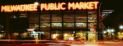 Milwaukee Public Market (MalaneyStuff) Tags: nikon milwaukee 3rd ward 3rdward d5100 night topaz usa wisconsin elements studio topazstudio