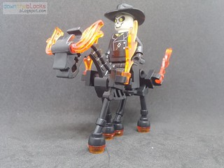 Lego Marvel The Caretaker (Ghost Rider) MOC DTB008