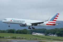 N936UW BOEING 757-200 (douglasbuick) Tags: aircraft boeing b757200 n936uw american airlines america jet plane egpf glasgow airport aviation flickr scotland airliner airways nikon d40