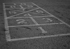 hopscotch (brown_theo) Tags: hopscotch game playground gahanna ohio