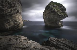 Le grain de sable (Bonifacio/Corsica)