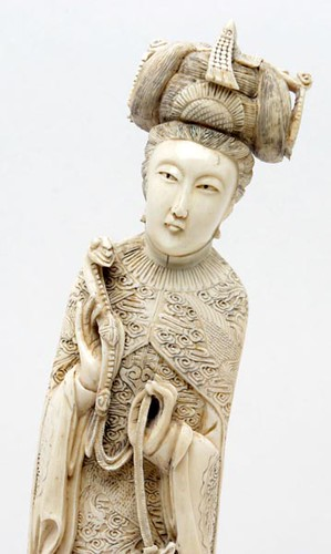 Chinese Carved Ivory Female Figure ($308.00)