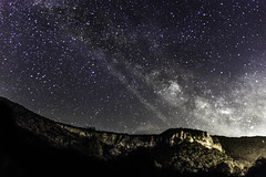 Milky Way (mathias.guillaume) Tags: jura nature sky milky way voie lactée étoiles ciel nuit night landscape france lake waterfall cascade