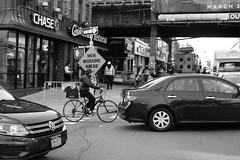 """Traffic (Santos """"Grim Santo"""" Gonzalez) Tags: fttt instagram traffic queens ny 2017 streetphotographer nycstreets newyorkcity newyorknewyork myfujifilm fujifilm picoftheday storyofthestreet nyspc gothamist citylife ridgewoodqueens grimsanto nyc urbanphoto quietmoments streetphotography nyclife flickr canpubphtoto urbanphotography photooftheday igstreet grimography photodaily timeoutnewyork blackandwhite monochrome zonestreet"""
