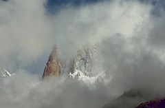 Ladyfinger Peak (shutterbugofficial) Tags: peak lady finger ladyfinger outdoor canon photography misty morning hunza fort view scenery landscape blue