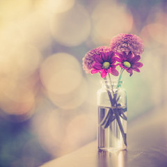 Hope (RoCafe Off for a while) Tags: stilllife flowers pot bottle bokeh backlight nikkormicro105f28 nikond600