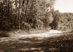 Old country road