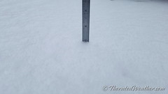 May 18, 2017 - Thornton sees accumulating snowfall late in the season. (ThorntonWeather.com)