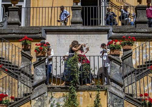 Napoli (NA), 2017, Palazzo Marigliano, i Giardini Pensili, la sede della Fondazione Giambattista Vico.