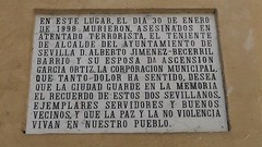 Alberto Jiménez Becerril / PLACA (adriáncortésvillalta) Tags: remondo sevilla eta alberto jimenez becerril ascension pp ayuntamiento concejal nngg