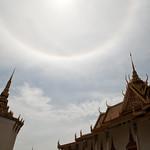 22° Halo Over the Royal Palace, Phnom Penh, Cambodia thumbnail