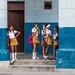 School girls, Havana Cuba