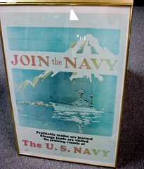 Join the Navy 1327 (Tangled Bank) Tags: valiant airbird command warbird museum titusville florida ww2 ww11 world war 2 two ii history historical military join navy 1327 poster art classic heritage vintage