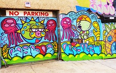 . (SA_Steve) Tags: kidlewnyc kidlewexvandals mural art streetart queensny nyc wellingcourtmuralproject colorful