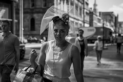 Beyond the Veil (Leanne Boulton) Tags: monochrome people portrait urban street candid portraiture streetphotography candidstreetphotography streetportrait candidstreetportrait eyecontact candideyecontact streetlife woman female face facial expression look emotion feeling eyes veil reaction tone texture detail depthoffield bokeh naturallight outdoor light shade shadow city scene human life living humanity society culture fashion canon canon5d 5dmarkiii 70mm character ef2470mmf28liiusm black white blackwhite bw mono blackandwhite glasgow scotland uk