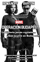 Operación Budapest Portada (CarlosHerreraJevc) Tags: operaciónbudapest fanfics entredosmundosparalelos dc marvel universe fanartsjevc 2017 covercustoms wattpad blackwidow hawkeye ladysif aquaman