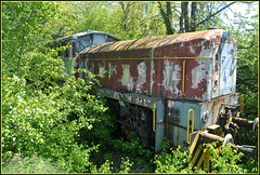 Leprosy (Loco Steve) Tags: railway derelict rusty strasshof austria abandoned travel