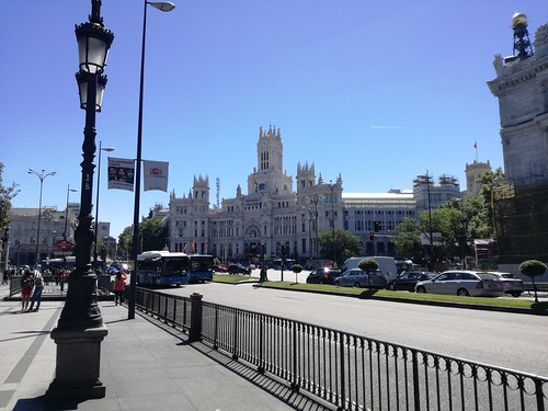 The Cybele Palace, Madrid, May 2017