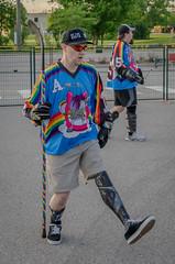 Horny Unicorns (SiliRat) Tags: 2017 bhi boobs ballhockeyinternational brantford canada hockey hornyunicorns june northamerica ontario streethockey vashl viewaskewstreethockeyleague waltergretzkystreethockeytournament amputeeathelete amputee
