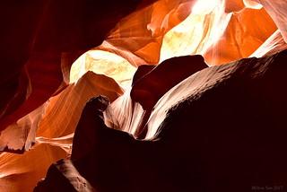 Calligraphy and colors|Upper Antelope Canyon, Arizona