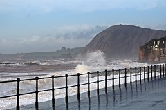 Sidmouth Storm - Feb 2017 (Dis da fi we (was Hickatee)) Tags: sidmouth storm feb 2017