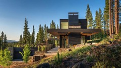 Californian home by Blaze Makoid steps down a forested hillside (Архитектурный Журнал) Tags: blaze californian down forested hillside home makoid steps а бы
