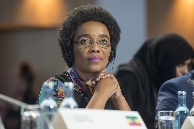 Lydia Sindisiwe Chikunga in attendance