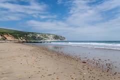 Swanage Beach (Ben_Broomfield) Tags: purbeck beack beach swanagebeach swanagerailway swanage groyne dorset coast sand jurrassic