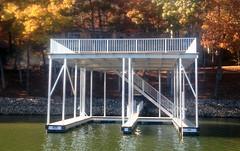 Double Slip Docks - Sundeck / Upper Deck Shade