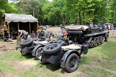 Militracks / Overloon (rob4xs) Tags: overloon militracks oorlogsmuseum museum wehrmacht motorcycle sidecar haltrack halftrack axis militracks2017 ww2 wwii nederland thenetherlands holland