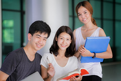 Asian student do report and home work togather (anekphoto) Tags: asia student asian thai people library university book school college education students thailand campus young girl woman study reading happy learning smile group technology tutor classroom academic teen training smart uniform leader white man work love communication leadership team text room stand age knowledge windows person scholar collegian tutoring japanese