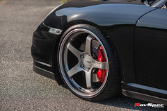 "ADVAN GT - Porsche Turbo - Hyper Racing Black • <a style=""font-size:0.8em;"" href=""http://www.flickr.com/photos/64399356@N08/34935362560/"" target=""_blank"">View on Flickr</a>"