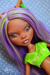 Clawdeen OOAK (evgeniya_chineko) Tags: ooak monsterhigh custom doll bjd custommonsterhigh clawdeen