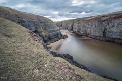 Smoo Cave (Tomasz Urbaszek) Tags: scotland highlands photostrider phototrip nikon d90 primes travel journey landsape longexpousure benro tokina116 wideangle