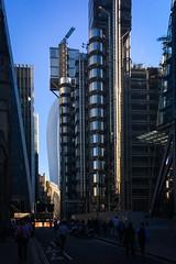 Evolving City Metropolis (ho_hokus) Tags: 2017 england lloyds lloydsoflondon london stmaryaxe uk iphone5se leadenhallstreet thewalkietalkie architecture buildings skyscapers cityscape