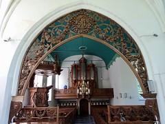 Triomfboog kerk Pieterburen (frits huisman) Tags: kerkpieterburen triomfboog houtsnijwerk