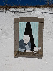 GAM Day 140-17 Homage to Banksy (old woman and cat) (gamulryan) Tags: banksy oldwoman cat mural painting