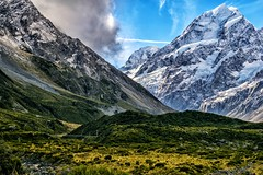 Mighty Mount Cook (jamesfultonphotography) Tags: mountcook newzealand southisland hookervalley