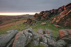 Red Hound (http://www.richardfoxphotography.com) Tags: houndtor granite tor dartmoornationalpark dartmoor sunrise outdoors