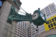 4-007 Macy's Clock (megatti) Tags: chicago clock departmentstore il illinois macys marshallfields