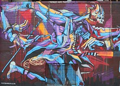 . (SA_Steve) Tags: estebandelvalle mural streetart art wellingcourtmuralproject queensny nyc wall