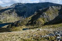 Sheeps at Cwm Clyd. (Marie-Laure Even) Tags: 2017 cwmclyd cymru europe fjall gallois galloise hike lac lake landscape llynclyd mai marielaureeven may montagne mountain nature nikond7100 paysdegalles paysage printemps royaumeuni snowdonianationalpark spring travel uk unitedkingdom voyage wales welsh wild wilderness гора природа bethesda