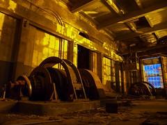 Dawn at the Coal Mine (Skylark92) Tags: belgie kolen mijn coal mine koolmijn abandoned urbex hdr belgium steenkoolmijn verlaten vergaan vervallen fabriek complex steenkool machines machinerie abando urban exploring factory decay vandalized