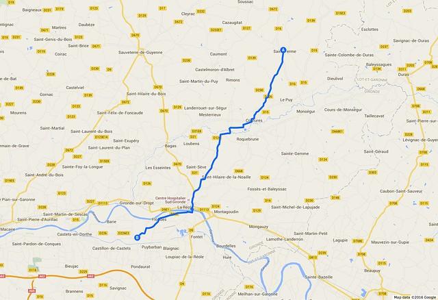 081_Francja_Saint-Ferme - Bassanne